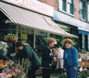 Trainee Florist, general dogsbody and an 80's perm!