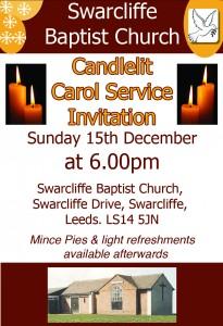 baptist church caroll service