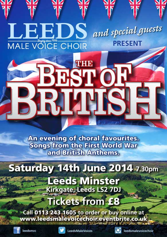 Leeds Male Voice Choir – Flying the Flag in Leeds