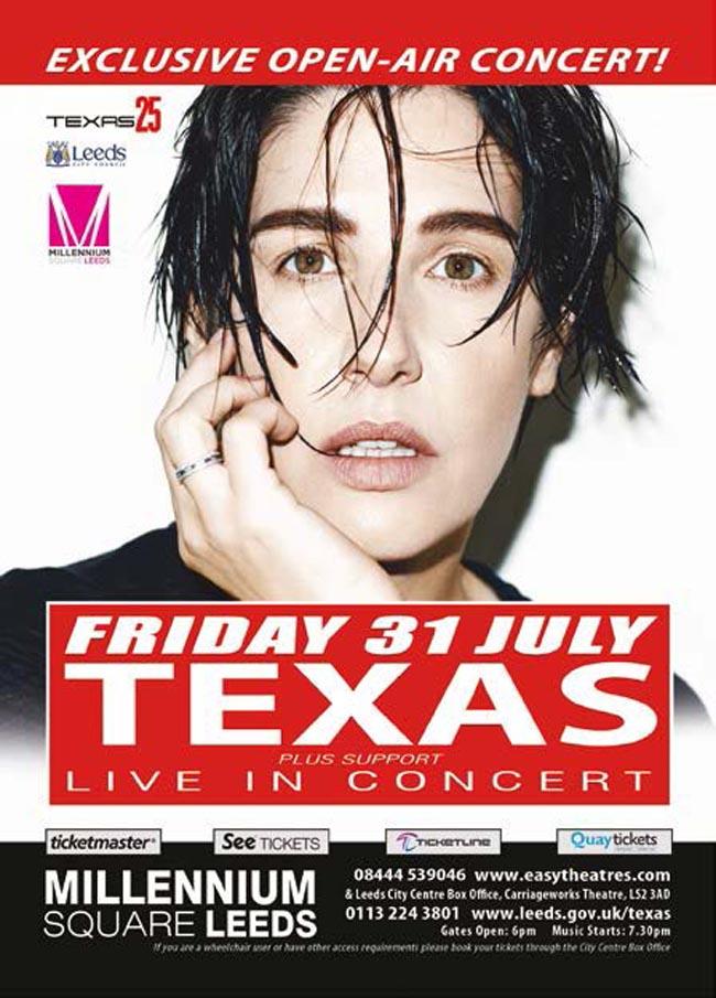 Millenium Square Leeds concertlg