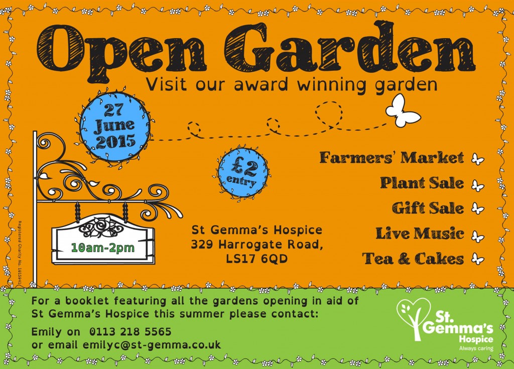 st gemmas Open Gardens East Leeds Mag