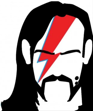 Bowie and Lemmy – Just in case we Forget