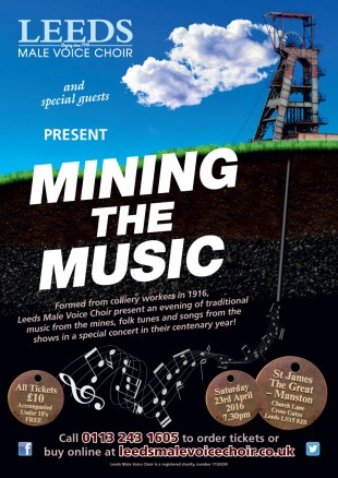Leeds Male Voice Choir present Mining the Music