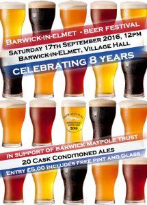 barwickBeer Festival Flyer