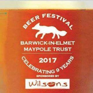 Barwick Beer Festival – 16th September 2017