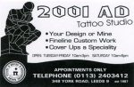 2001 AD Tattoo Studio