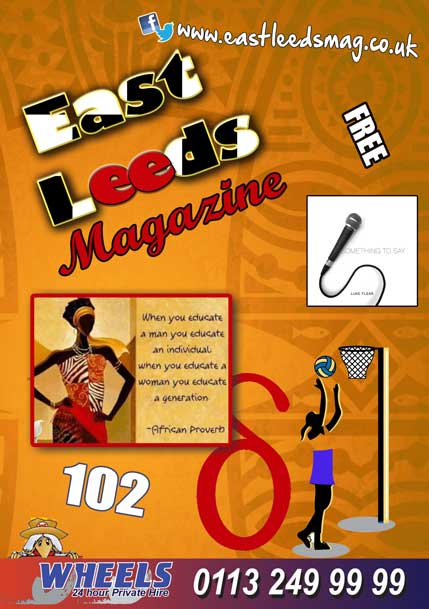 East Leeds Magazine Issue 102_March 2021 cover
